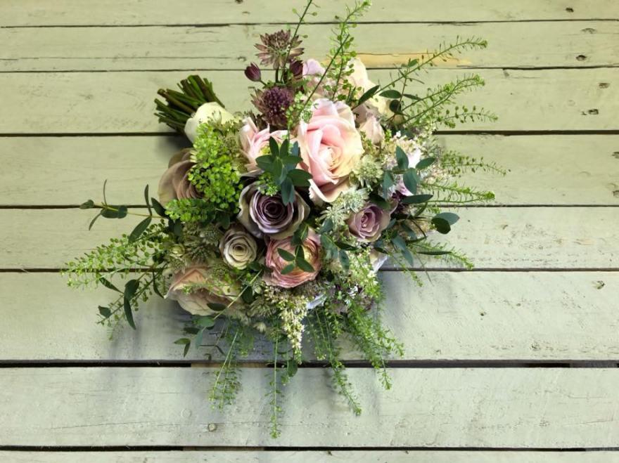 Flowers by Charlotte Davies; copywriting