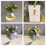Flowers; Writing; Website