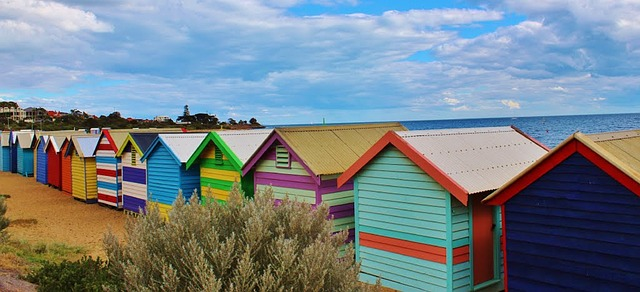 beach huts; summer; words which work