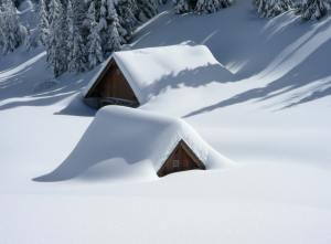 snow, blanket, winter, words